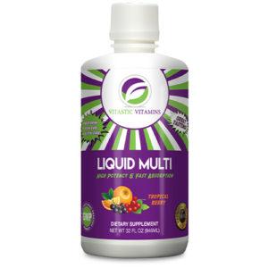 Vitastic Vitamins Liquid Multi Tropical Berry
